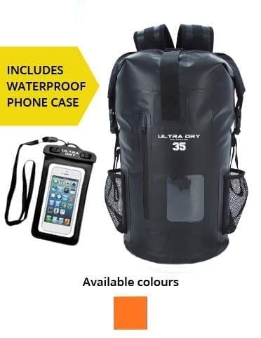 35l Premium Waterproof Backpack Dry Bag - Ultra Dry Bags d3386594aa2ab